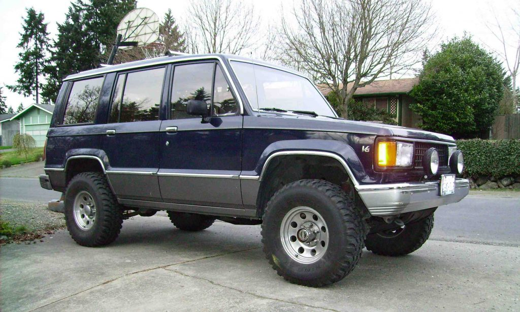 Chevrolet Trooper 1991 Review Amazing Pictures And Images Look