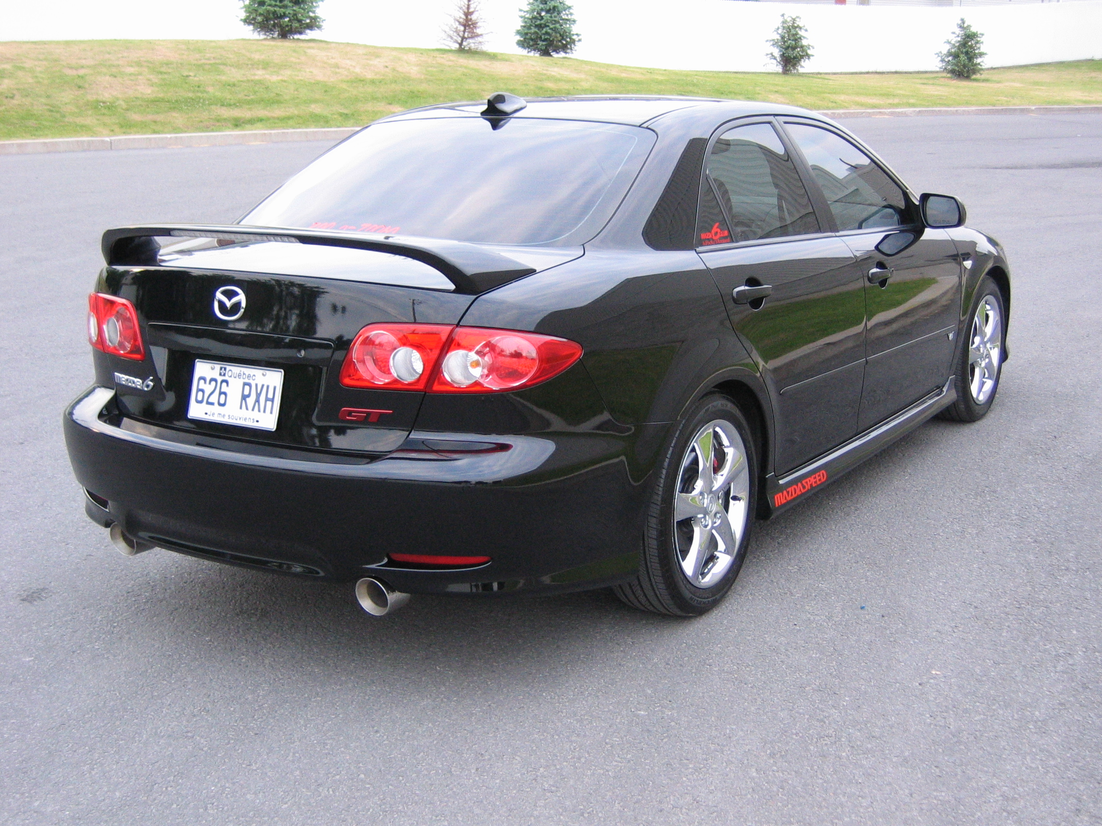 mazda 6 2005 review amazing pictures and images look at the car. Black Bedroom Furniture Sets. Home Design Ideas