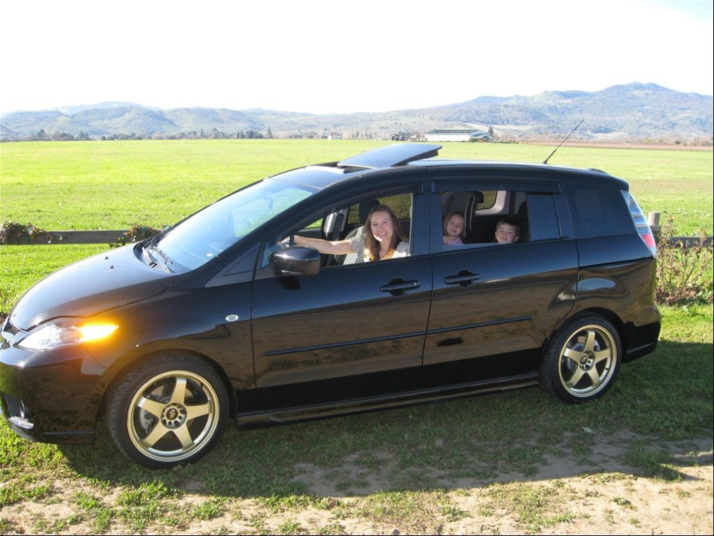 Black Mazda 5 2006: Amazing Pictures and Images – Look at the car