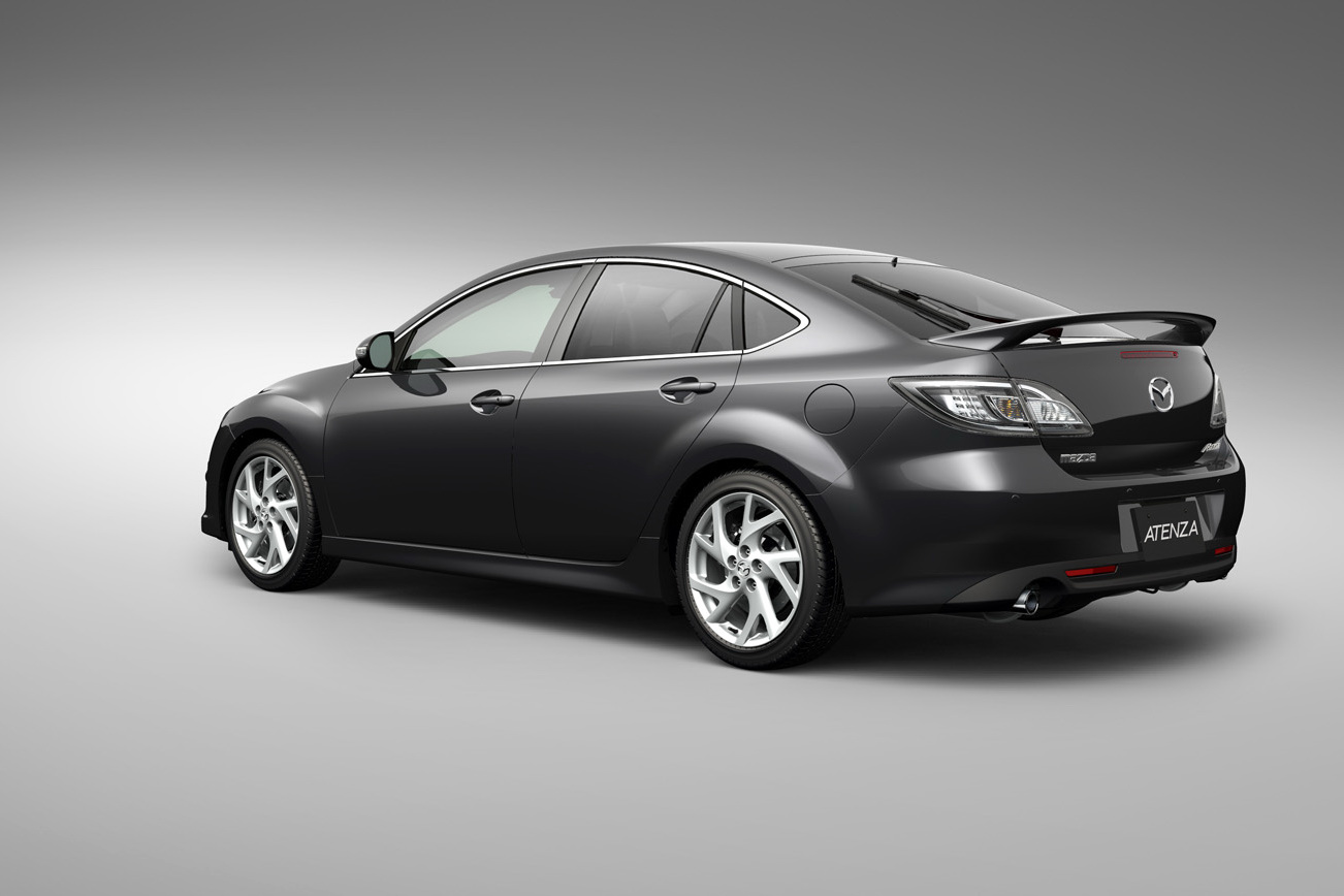 Blue Mazda 6 2011: Photo And Video Review