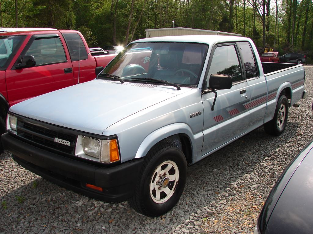Mazda B2200 1989 Review Amazing Pictures And Images Look At The Car