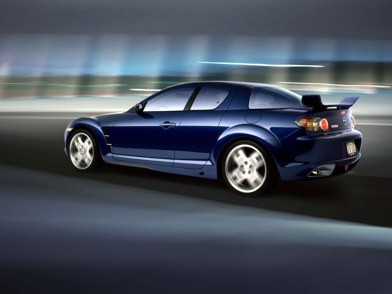 Blue Mazda RX 8 2014: Photo And Video Review