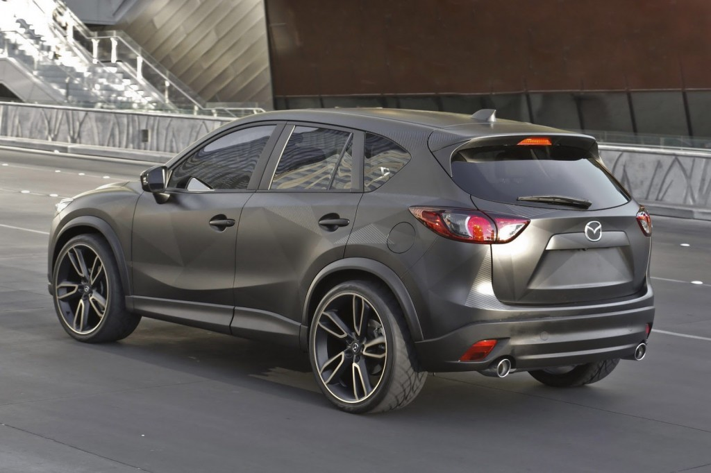 Gray Mazda Coupe 2015