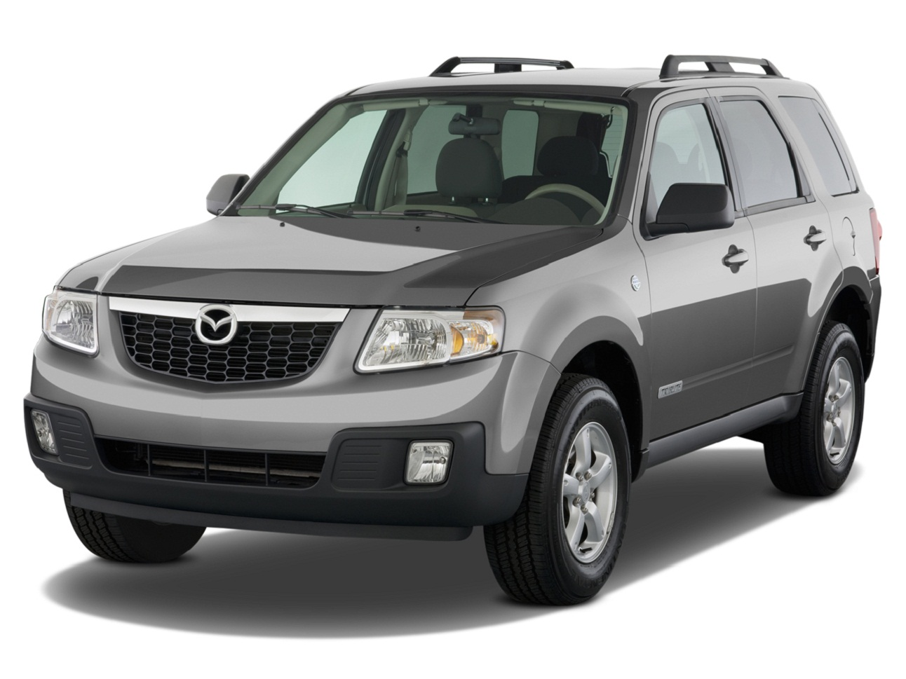 Gray Mazda Tribute 2011