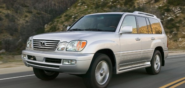 Lexus LX 470 2002 Photo - 1