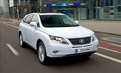 Lexus RX 450 H 2011 Photo - 1