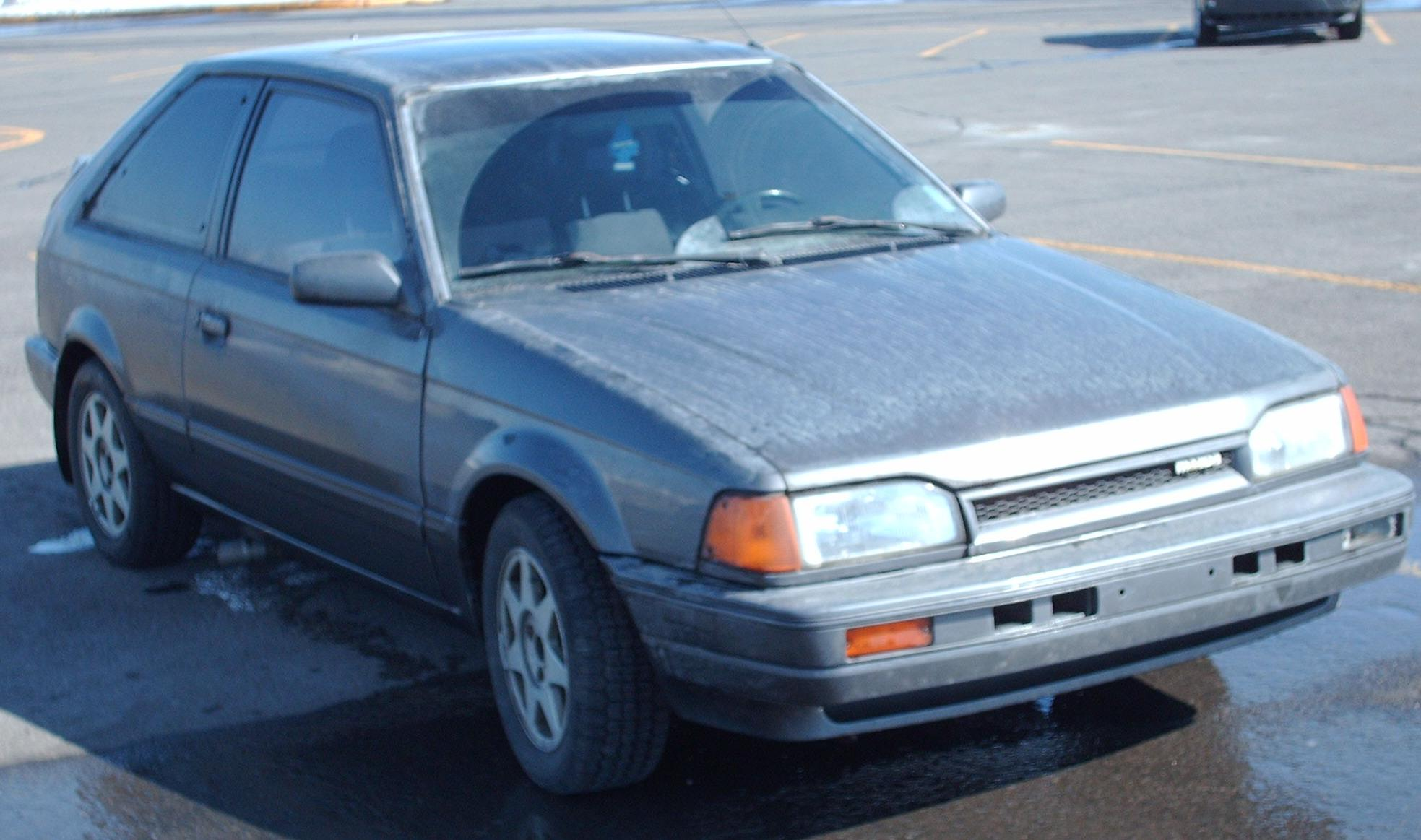 Mazda 323 1989 Review Amazing Pictures And Images Look
