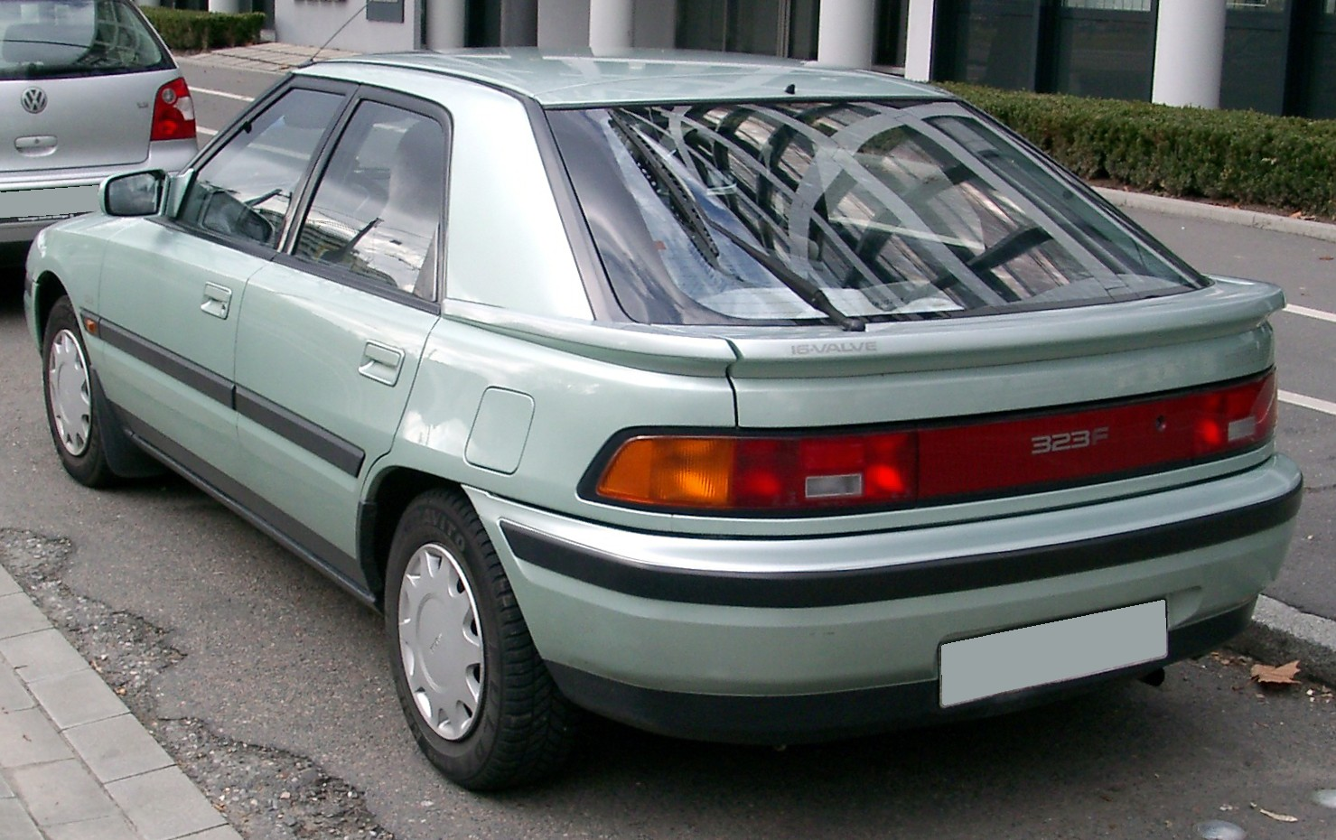 Mazda 323f 1989 Review Amazing Pictures And Images Look At The Car