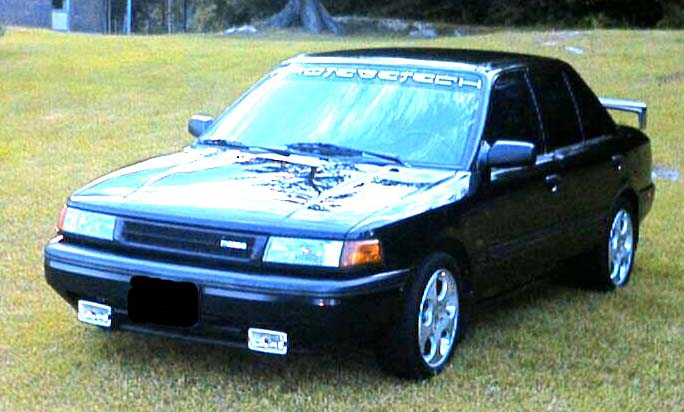 Dear Friends Let Us Introduce Probably The Most Comfortable Car Brand From Japan So Get Acquainted This Is Mazda Protege 1992