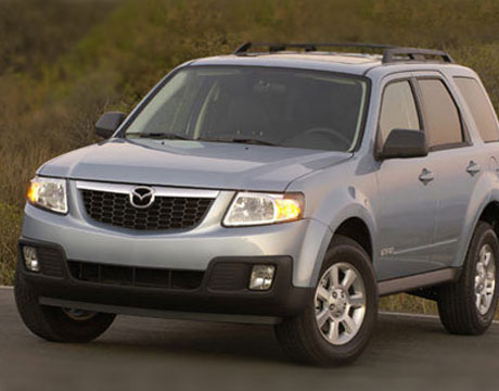White Mazda Tribute 2012