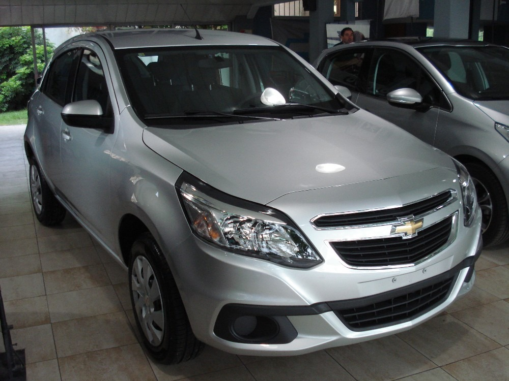 Chevrolet Agile 2014 Photo - 1