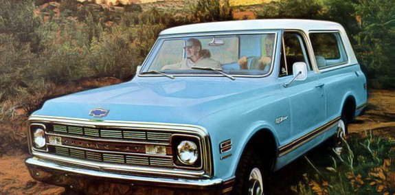 Chevrolet Blazer 1969 Photo - 1