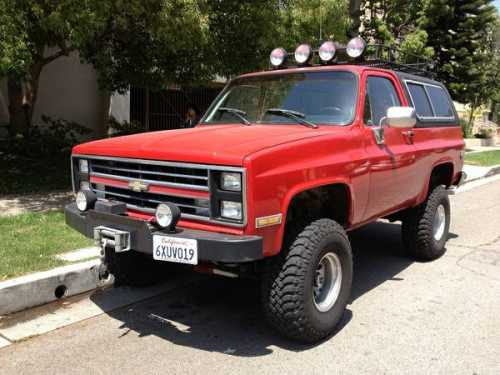 Chevrolet Blazer 1987 Photo - 1