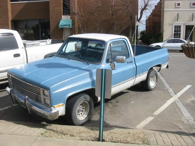 Chevrolet Pickup 1985 Photo - 1