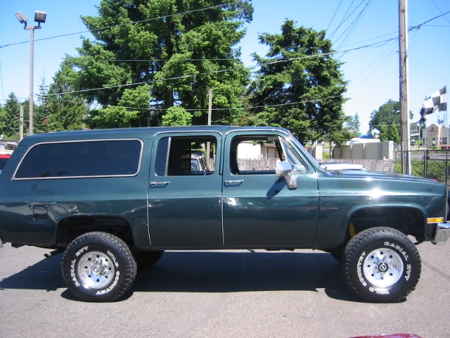 Chevrolet Suburban 1984 Review Amazing Pictures And