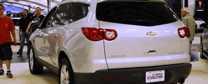 Chevrolet Traverse 2008 Photo - 1