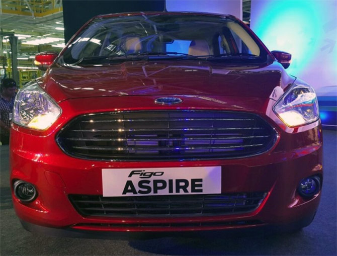 Ford Aspire 2015 Photo - 1