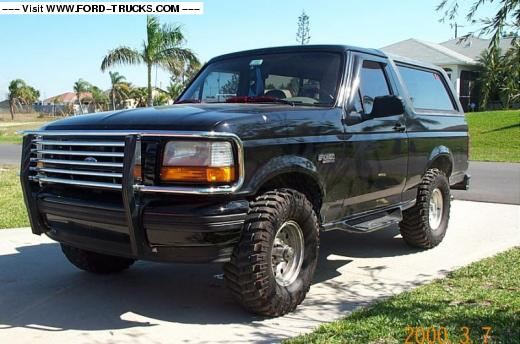 Ford Bronco 1995 Photo - 1