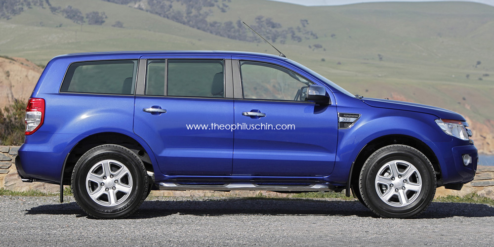 Ford Everest 2014 Photo - 1