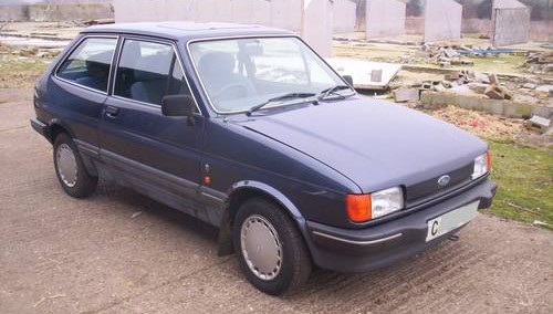 Ford Fiesta 1986 Photo - 1
