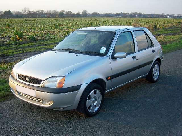 Ford Fiesta 2002 Photo - 1