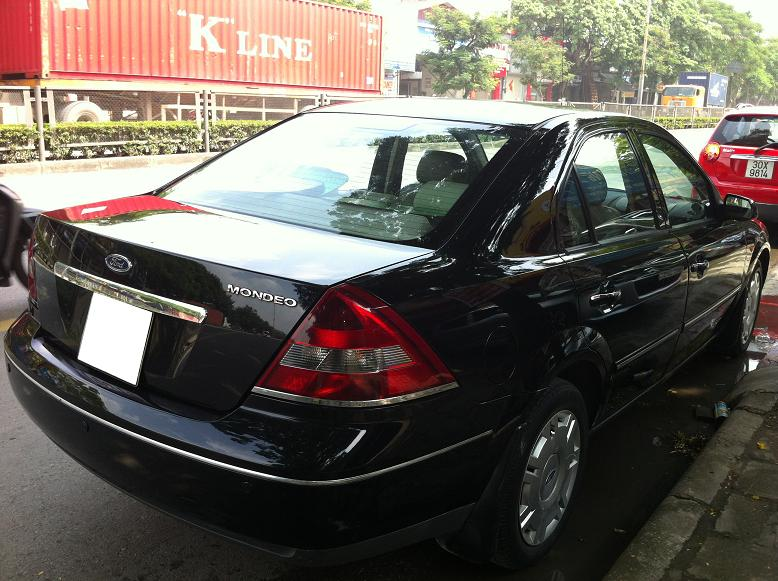 Ford Mondeo 2003 Photo - 1