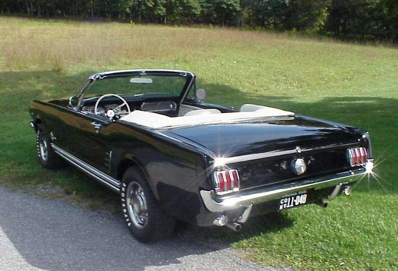 Ford Mustang 1960 on 1987 volkswagen cabriolet