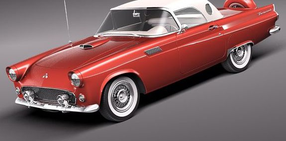 Ford Thunderbird 1956 Photo - 1