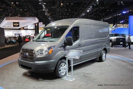 Ford Transit 2015 Photo - 1