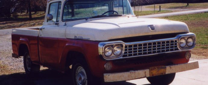 Ford Truck 1958 Photo - 1