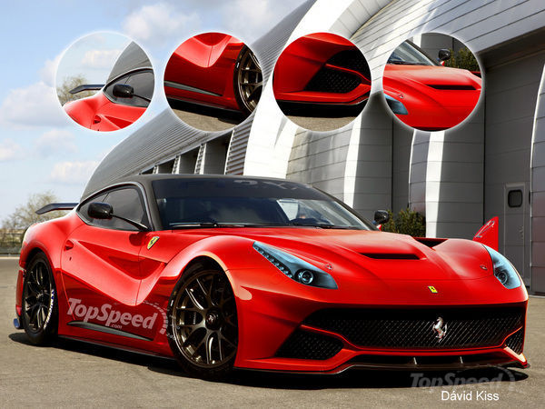 Ferrari Berlinetta 2015 Photo - 1
