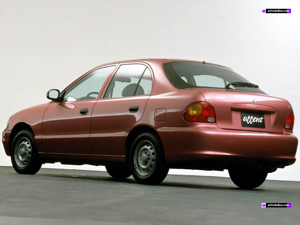hyundai accent 1994  review  amazing pictures and images