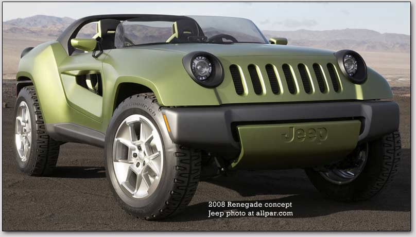 Jeep Renegade 2008 Photo - 1