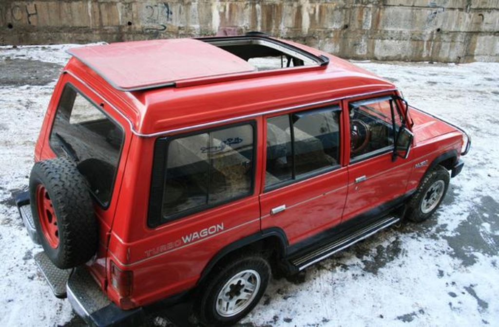 Mitsubishi Montero 1985 Review Amazing Pictures And Images Look At The Car