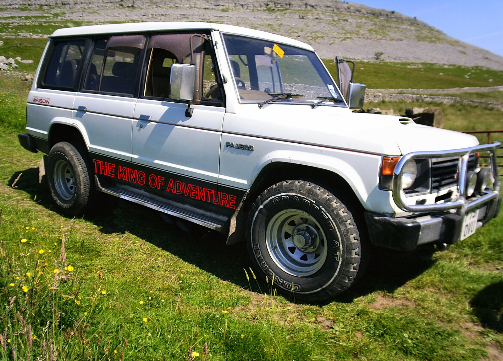 Mitsubishi Pajero 1987 Review Amazing Pictures And Images Look At The Car
