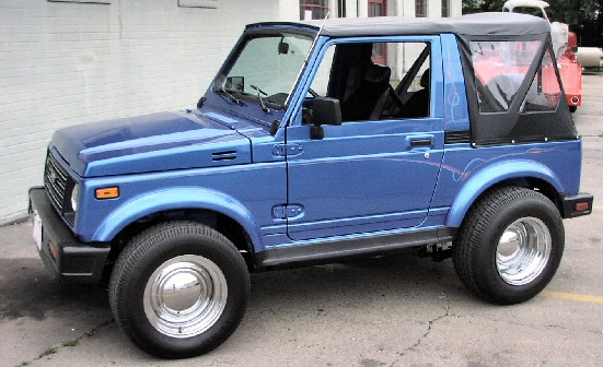 Suzuki Samurai 1989 Photo - 1