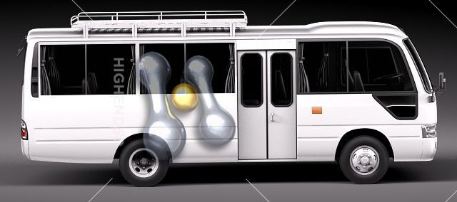 Toyota Coaster 2012 Photo - 1