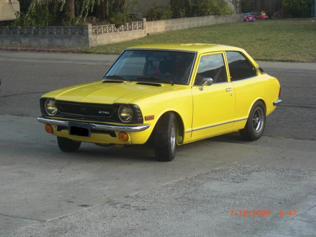 Toyota Corolla 1973 Review Amazing Pictures And Images Look At The Car