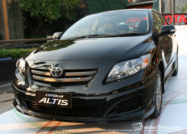 Toyota Corolla Altis 2008: Review, Amazing Pictures and Images – Look at the car