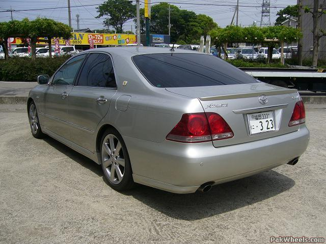 Toyota Crown Athlete 2004 Review Amazing Pictures And