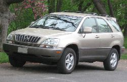 Toyota Harrier 2001 Photo - 1