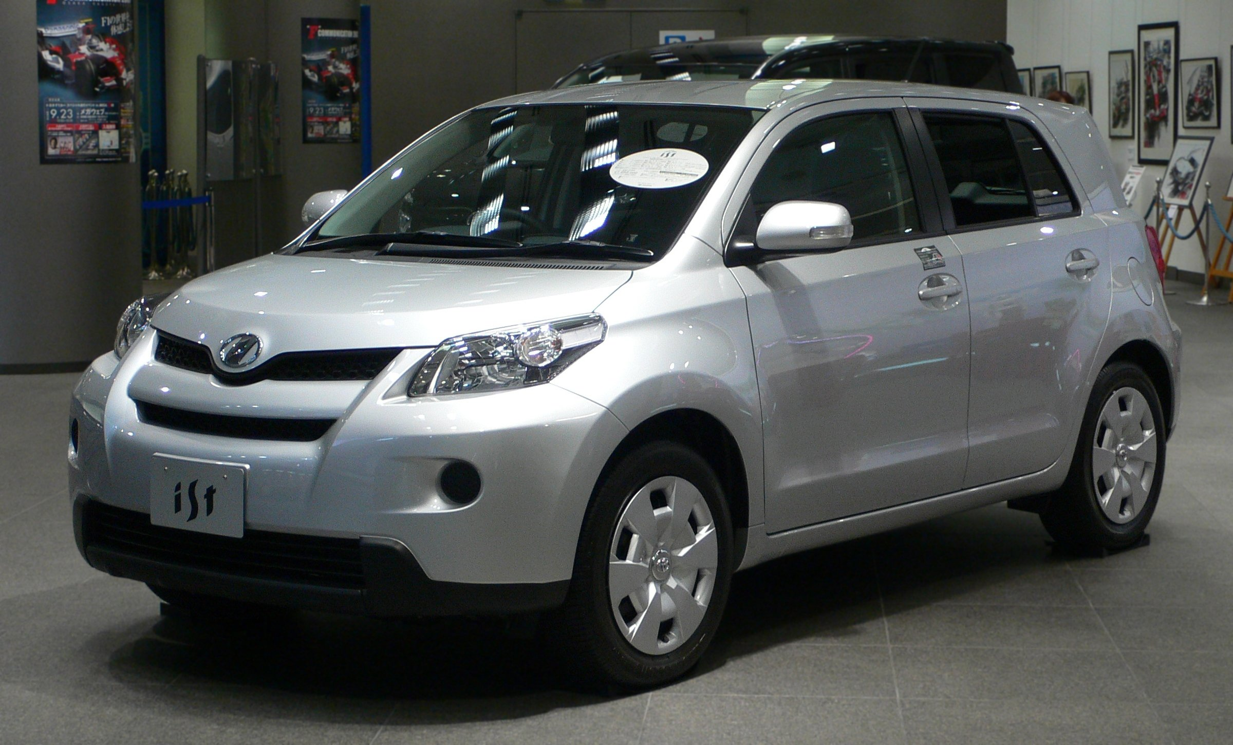Toyota Ist 2007 Review Amazing Pictures And Images