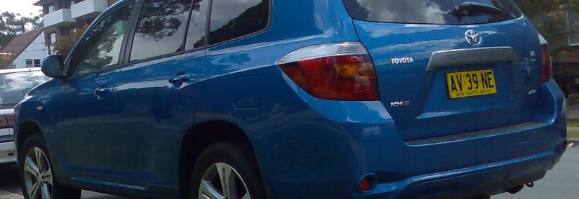 Toyota Kluger 2008 Photo - 1