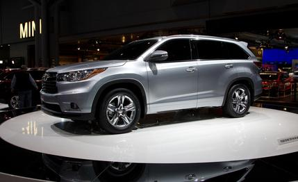Toyota Kluger 2014 Photo - 1