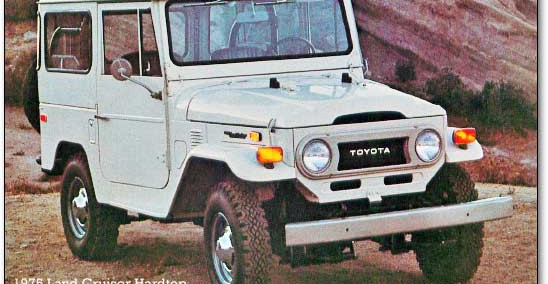 Toyota Land Cruiser 1975 Photo - 1