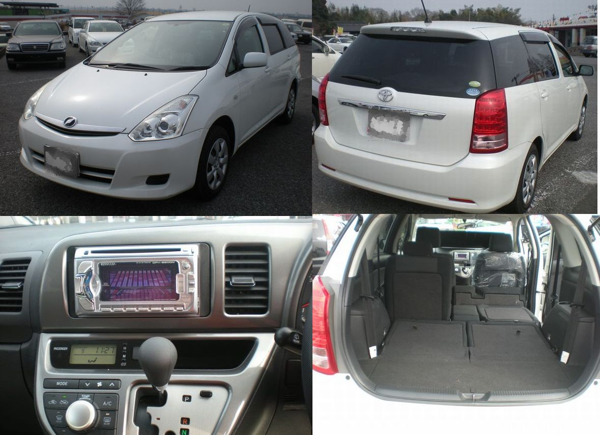Toyota Wish 2006 Review Amazing Pictures And Images Look At The Car