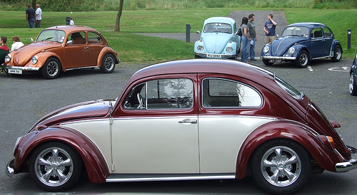 Onboard The Classic Modified VW Bettle