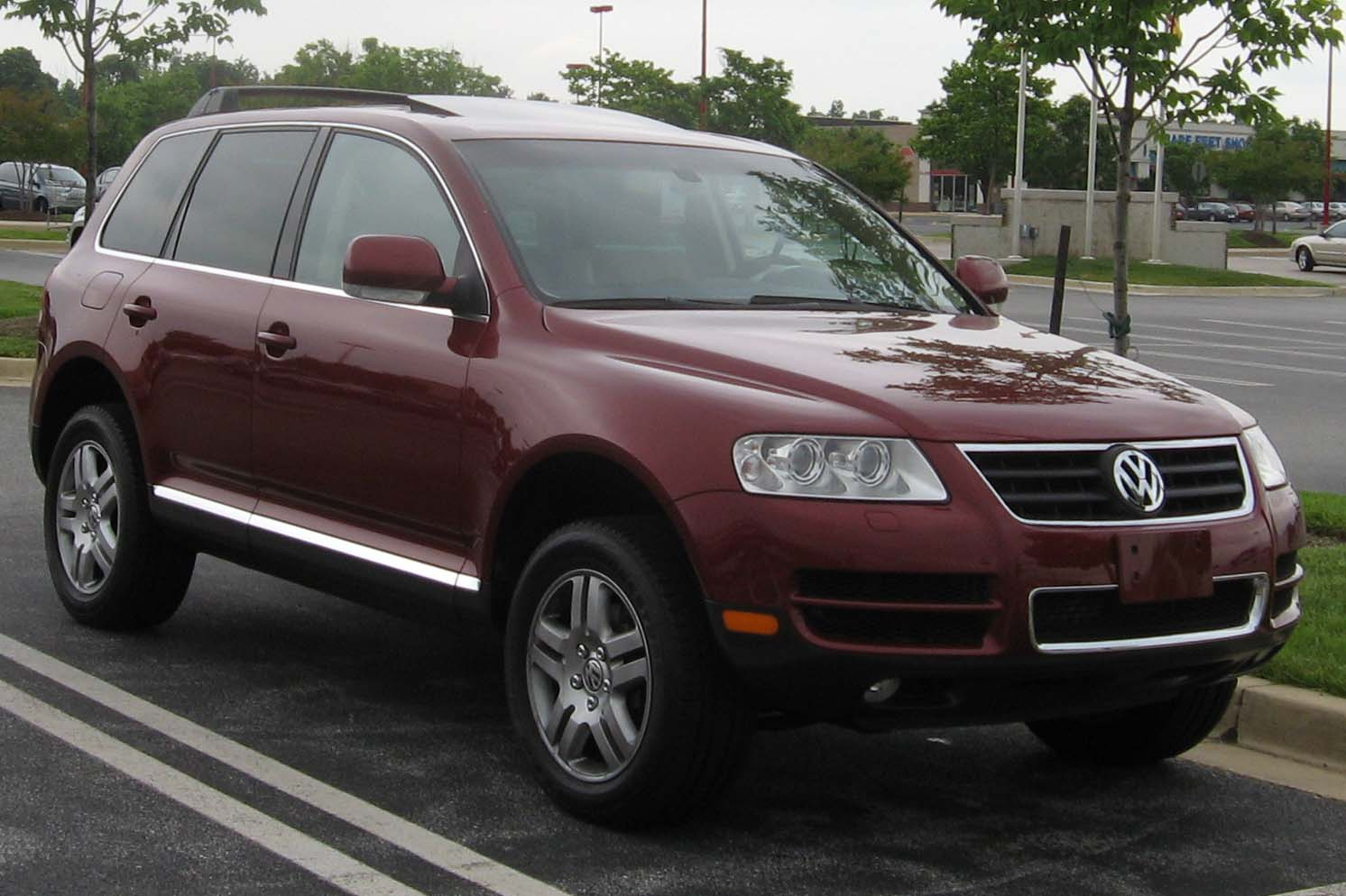 Volkswagen Touareg 2003 Photo - 1