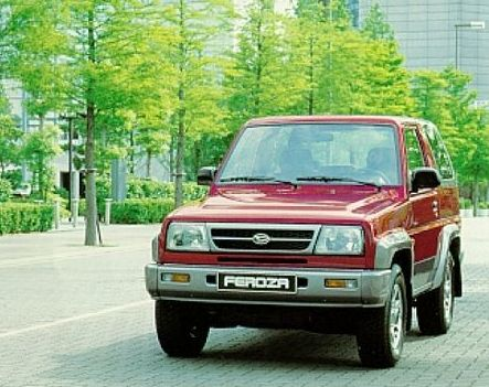 Daihatsu Feroza 1997 Review Amazing Pictures And Images Look At