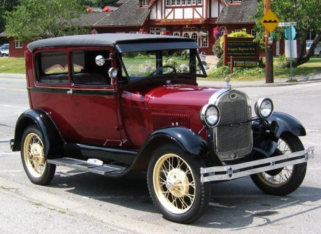 Ford Coupe 1930-4